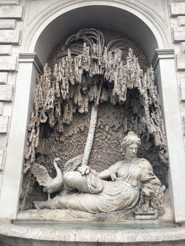 La déesse Junon des Quattro Fontane