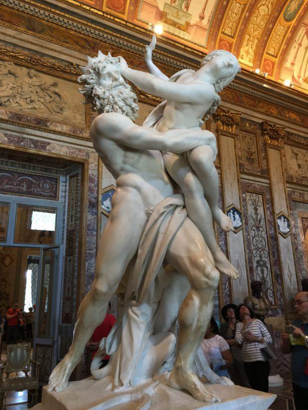 L'Enlèvement de Perséphone, du Bernin