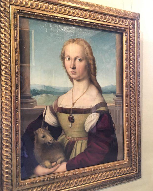La Dame à la Licorne, de Raphael