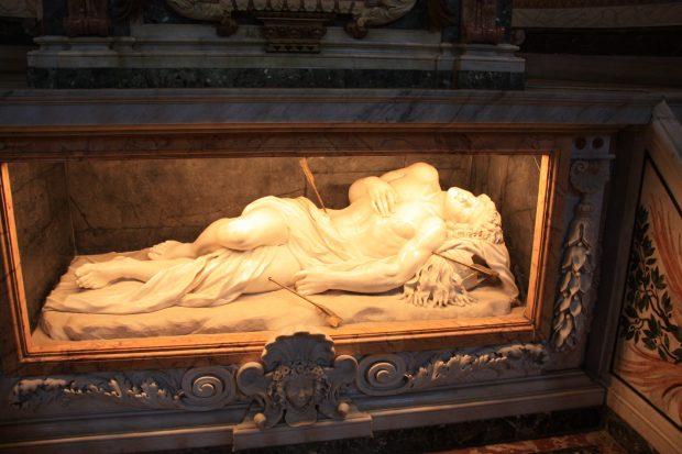 l'autel du martyr, Saint Sébastien, par Antonio Giorgetti
